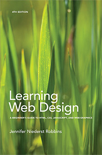 Learning Web Design cover