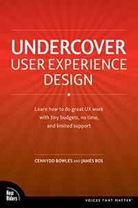 Undercover User Experience Design cover
