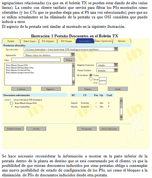 Sample page from one of Odin's requirements documents, with a mock-up of the intended web interface
